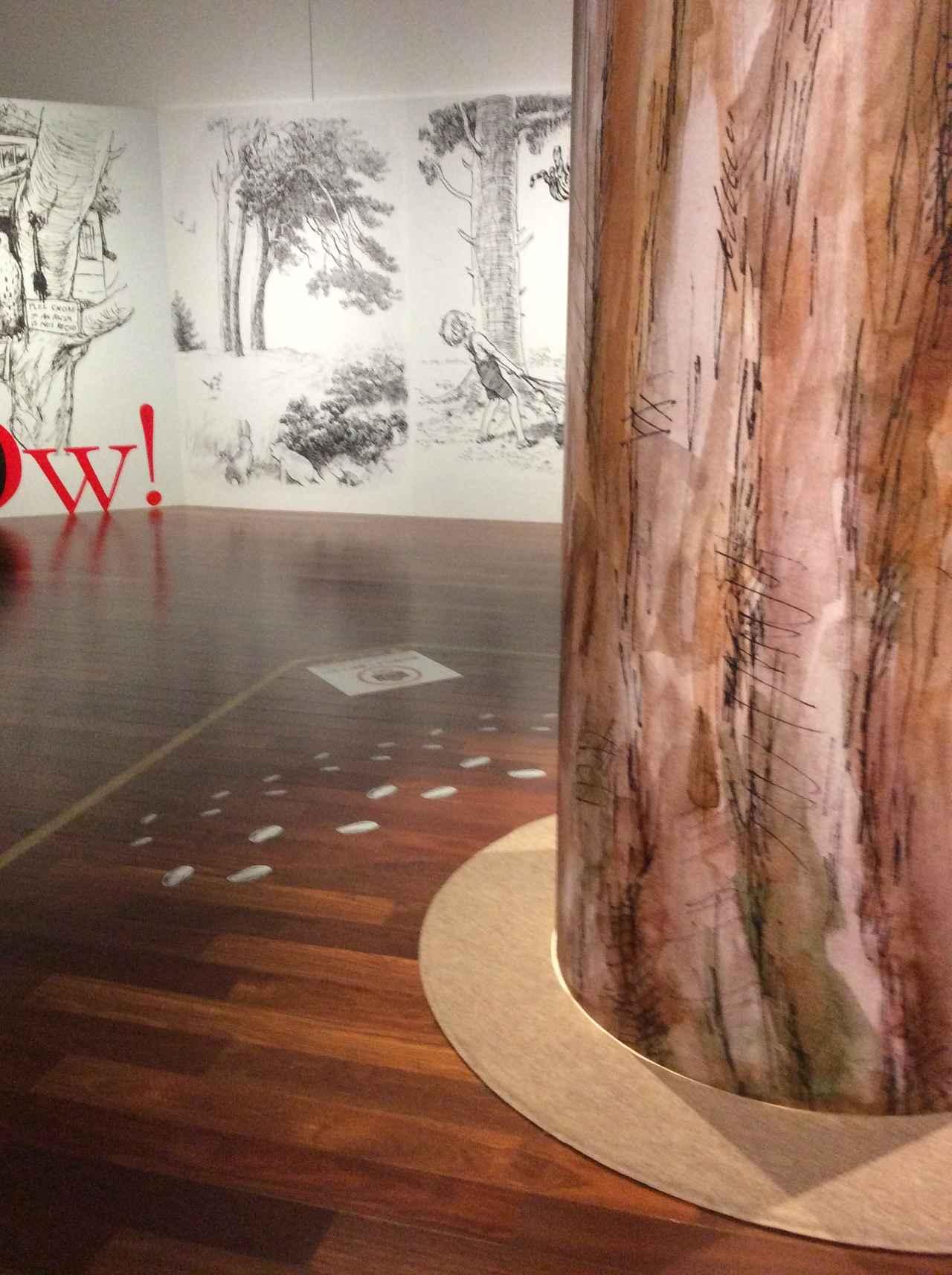 画像2: 「クマのプーさん展 」大阪会場 展示風景 photo©︎cinefil