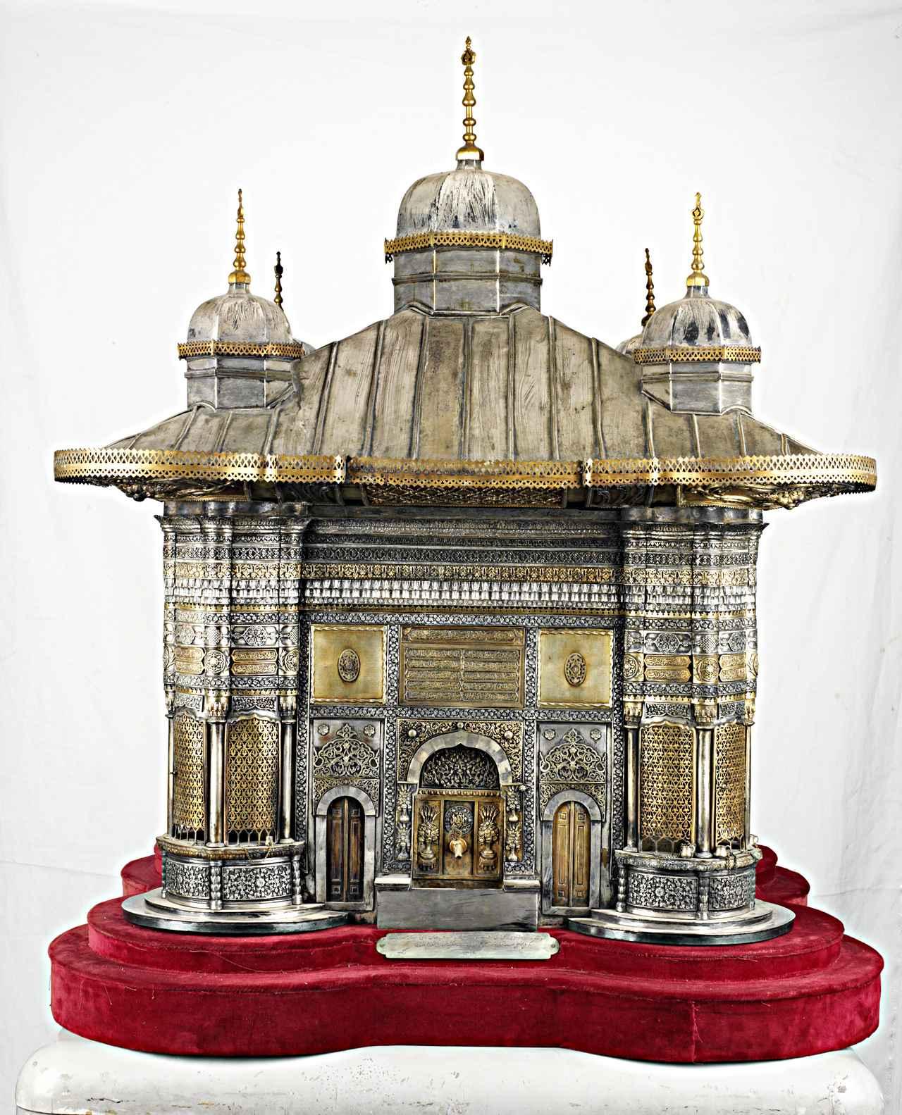 画像: 《スルタン・アフメト3世の施水場模型》 1893年8月16日 トプカプ宮殿博物館蔵