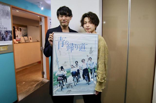 画像: 左から藤井道人監督、冨田佳輔さん