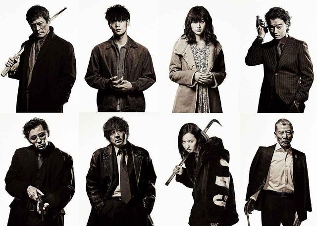 画像: 発表となった豪華キャストは、 大森南朋、染谷将太、小西桜子、ベッキー、村上淳、塩見三省、内野聖陽!