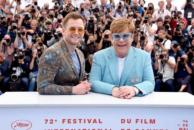 画像1: タロン・エガートン、エルトン・ジョンら、カンヌ国際映画祭に登場!『ボヘミアン・ラプソディ』 x 『キングスマン』 のスタッフ・キャストが描く『ロケットマン』