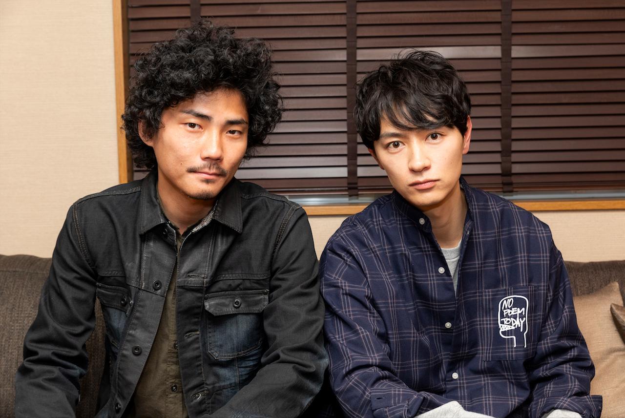 画像2: 左より毎熊克哉さん、細田善彦さん