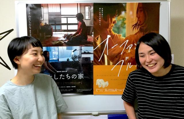 画像3: 左より清原惟監督(『わたしたちの家』)、工藤梨穂監督(『オーファンズ・ブルース』)
