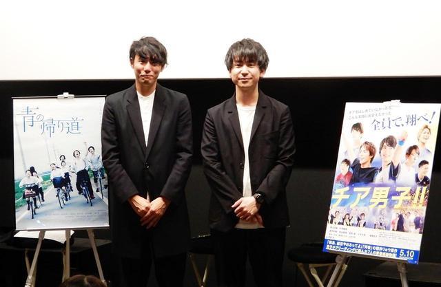 画像: 左より藤井道人監督、風間太樹監督、