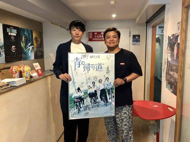 画像: 左から藤井道人監督、飯塚健監督