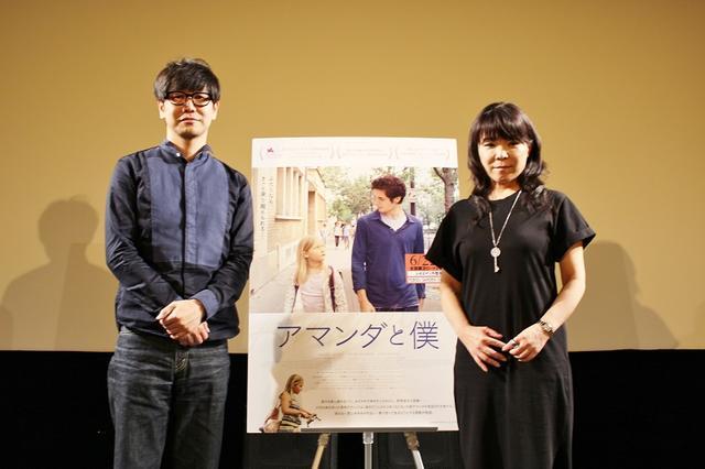 画像: 左より中井圭さん(映画解説者)、立田敦子さん(映画ジャーナリスト)