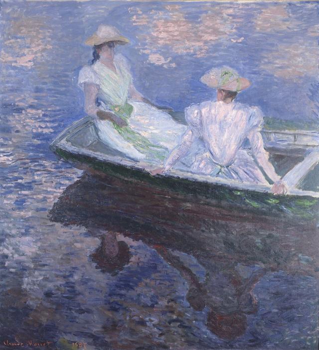 画像: クロード・モネ《舟遊び》 1887年 油彩、カンヴァス 国立西洋美術館(松方コレクション)