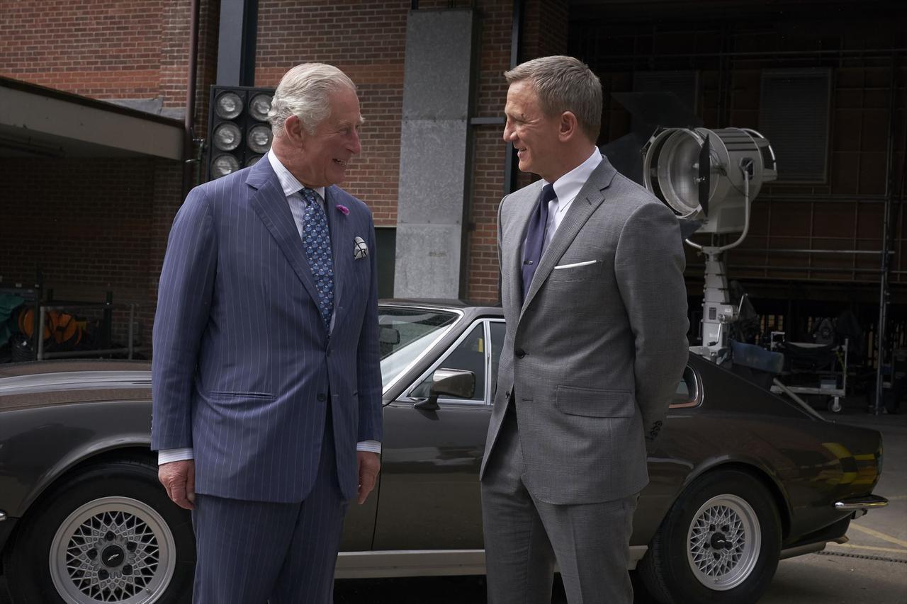 画像5: チャールズ皇太子も撮影現場に!期待高まる『BOND 25(仮題)』メイキング映像が到着!  謎に包まれていた本作が徐々に明白にー