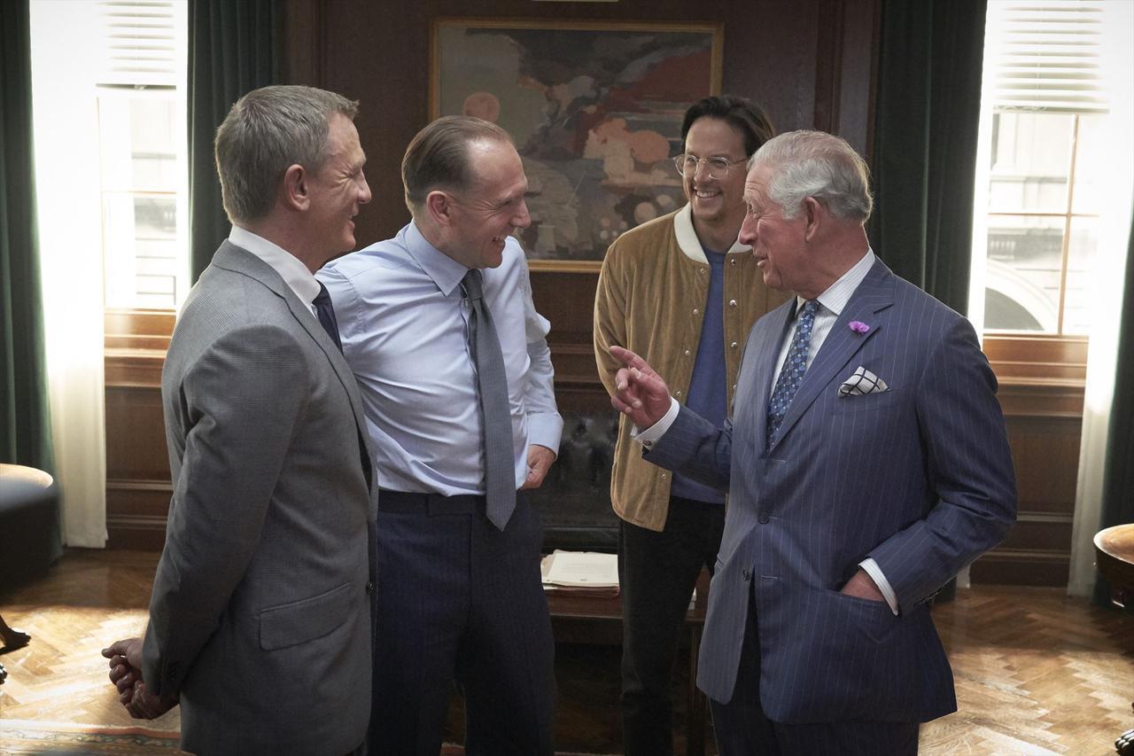 画像2: チャールズ皇太子も撮影現場に!期待高まる『BOND 25(仮題)』メイキング映像が到着!  謎に包まれていた本作が徐々に明白にー