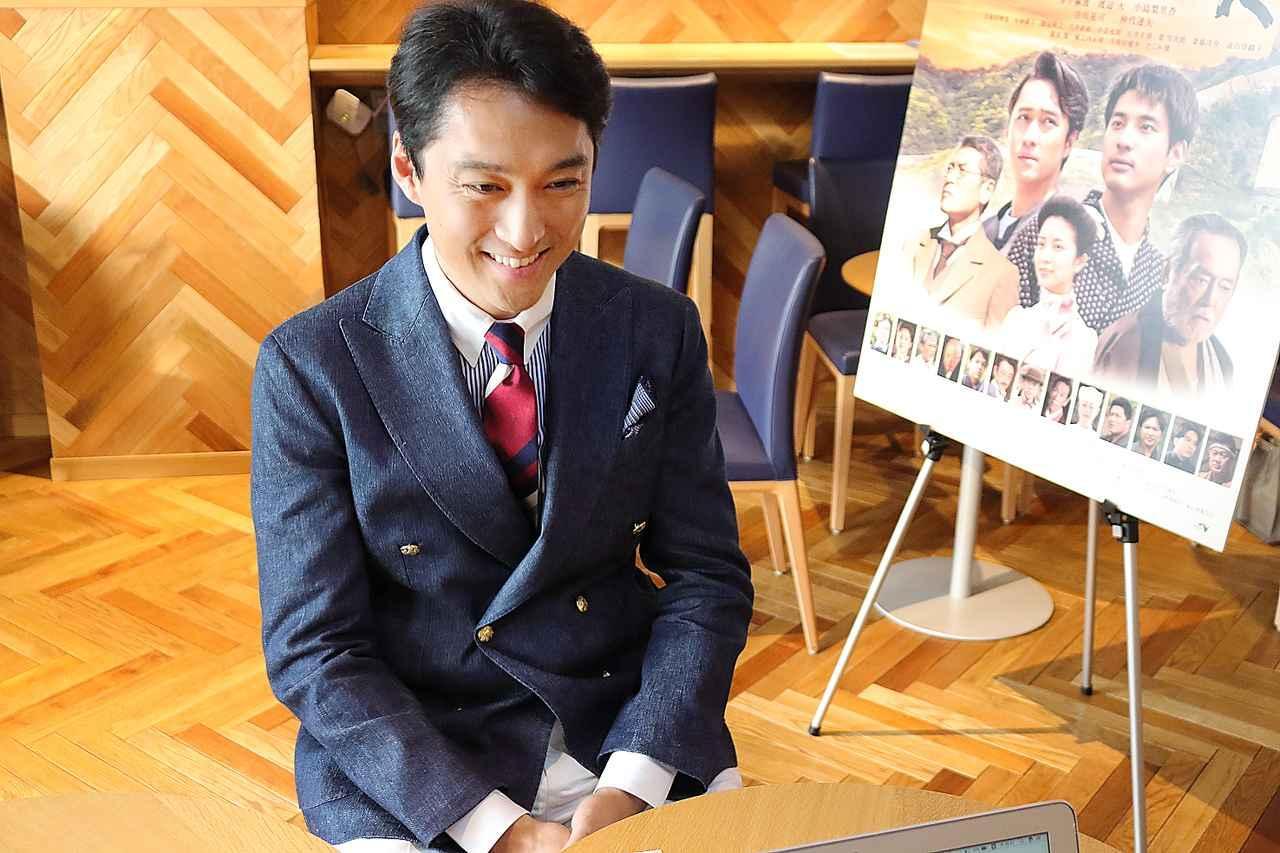 画像: 渡辺大さん photo by Shion Saito