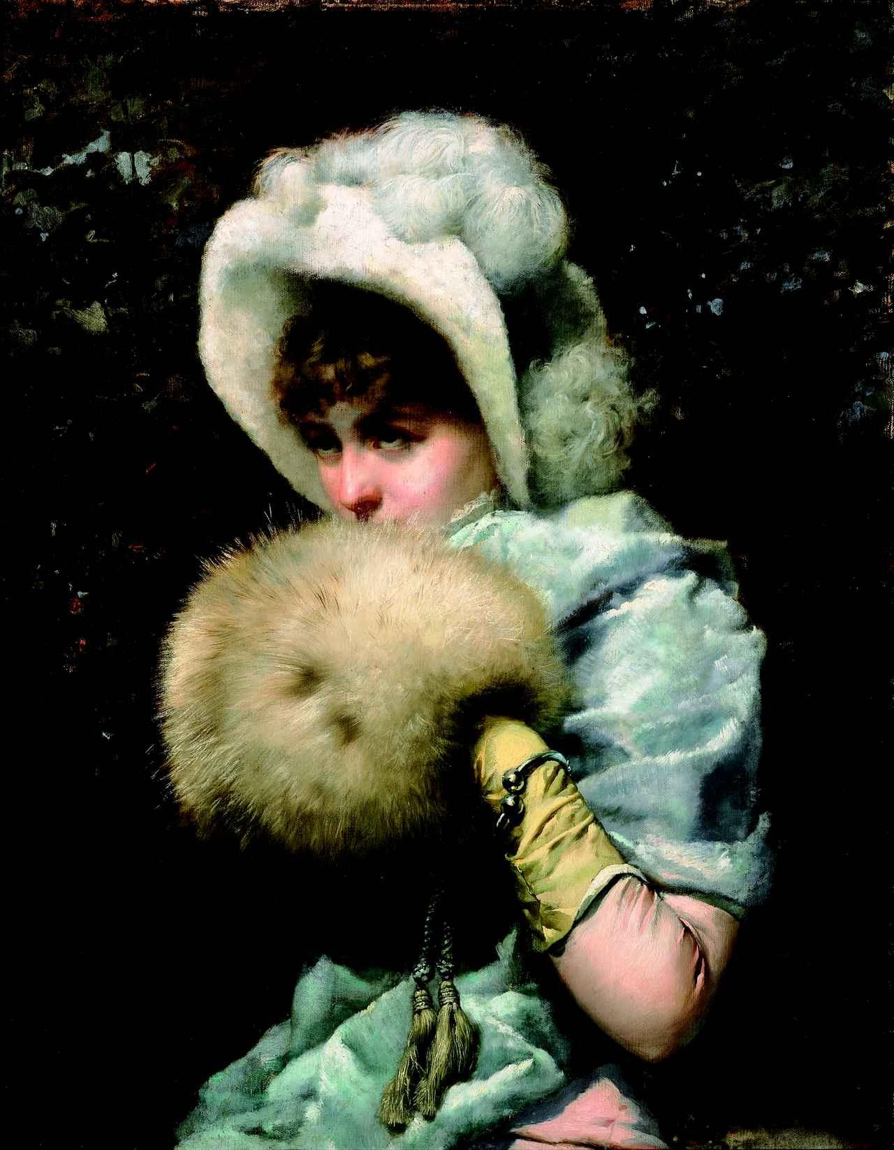 画像: フランセスク・マスリエラ《1882 年の冬》 1882年 油彩・カンヴァス カタルーニャ美術館 © Museu Nacional d'Art de Catalunya, Barcelona (2019)