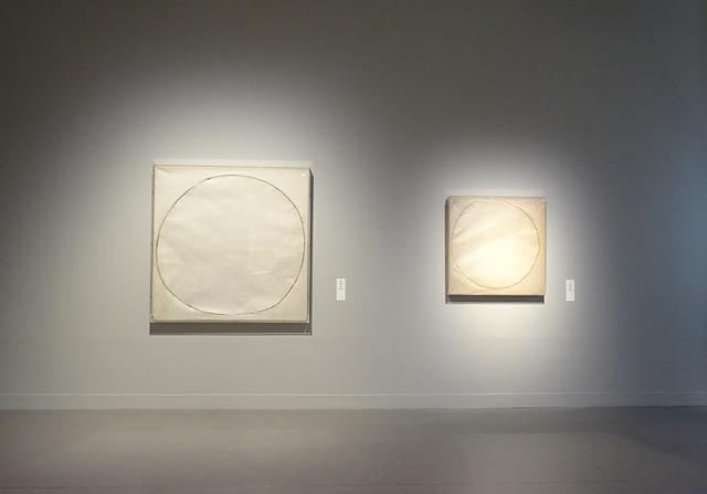 画像: 物と言葉 Mono to Kotoba Washi, 130.4x130cm(left) 86x86cm(right) 1968(10th The Bienale de São Paulo)