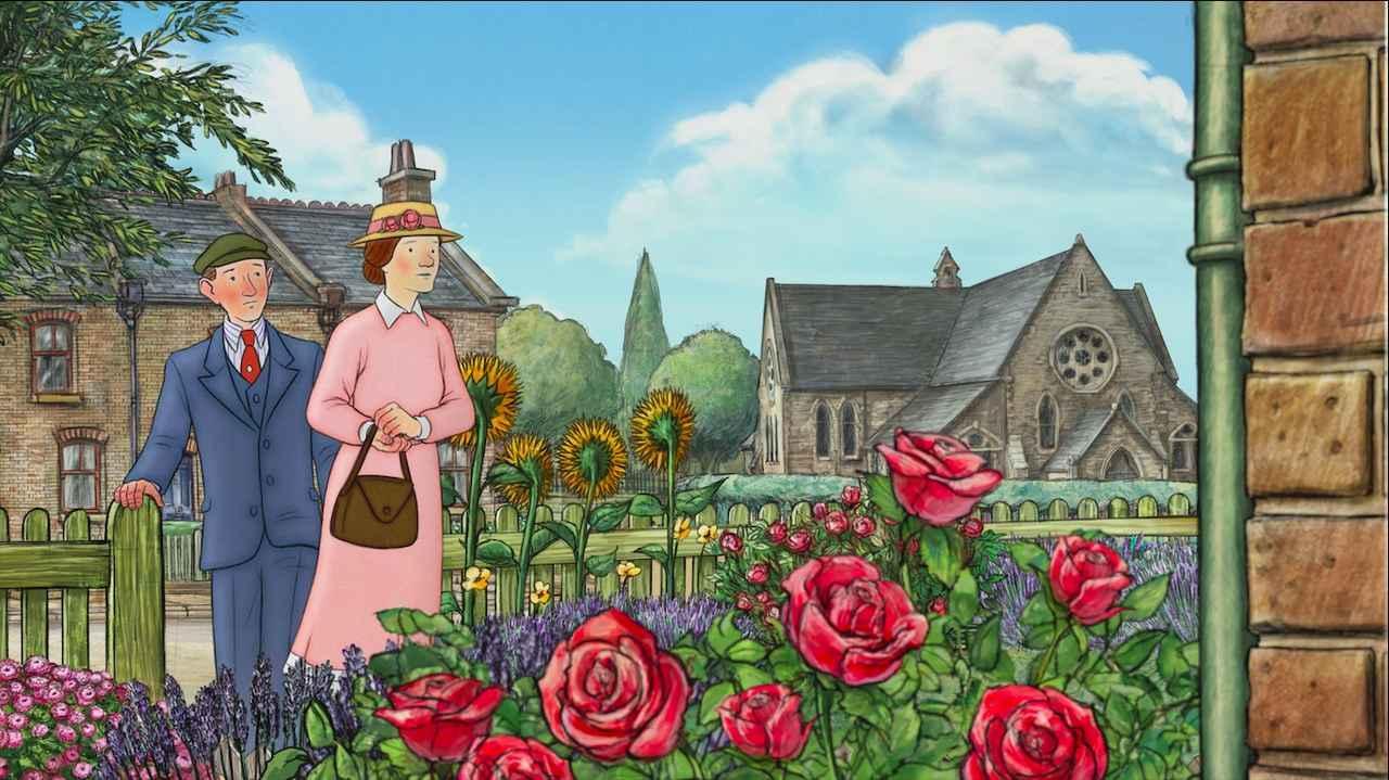 画像1: 予告!岩波ホールで初の2Dアニメーション!「スノーマン」レイモンド・ブリッグズ原作の奇跡の手書きアニメーション『エセルとアーネスト ふたりの物語』