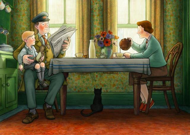 画像2: 予告!岩波ホールで初の2Dアニメーション!「スノーマン」レイモンド・ブリッグズ原作の奇跡の手書きアニメーション『エセルとアーネスト ふたりの物語』