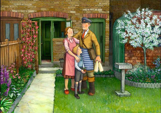 画像5: 予告!岩波ホールで初の2Dアニメーション!「スノーマン」レイモンド・ブリッグズ原作の奇跡の手書きアニメーション『エセルとアーネスト ふたりの物語』