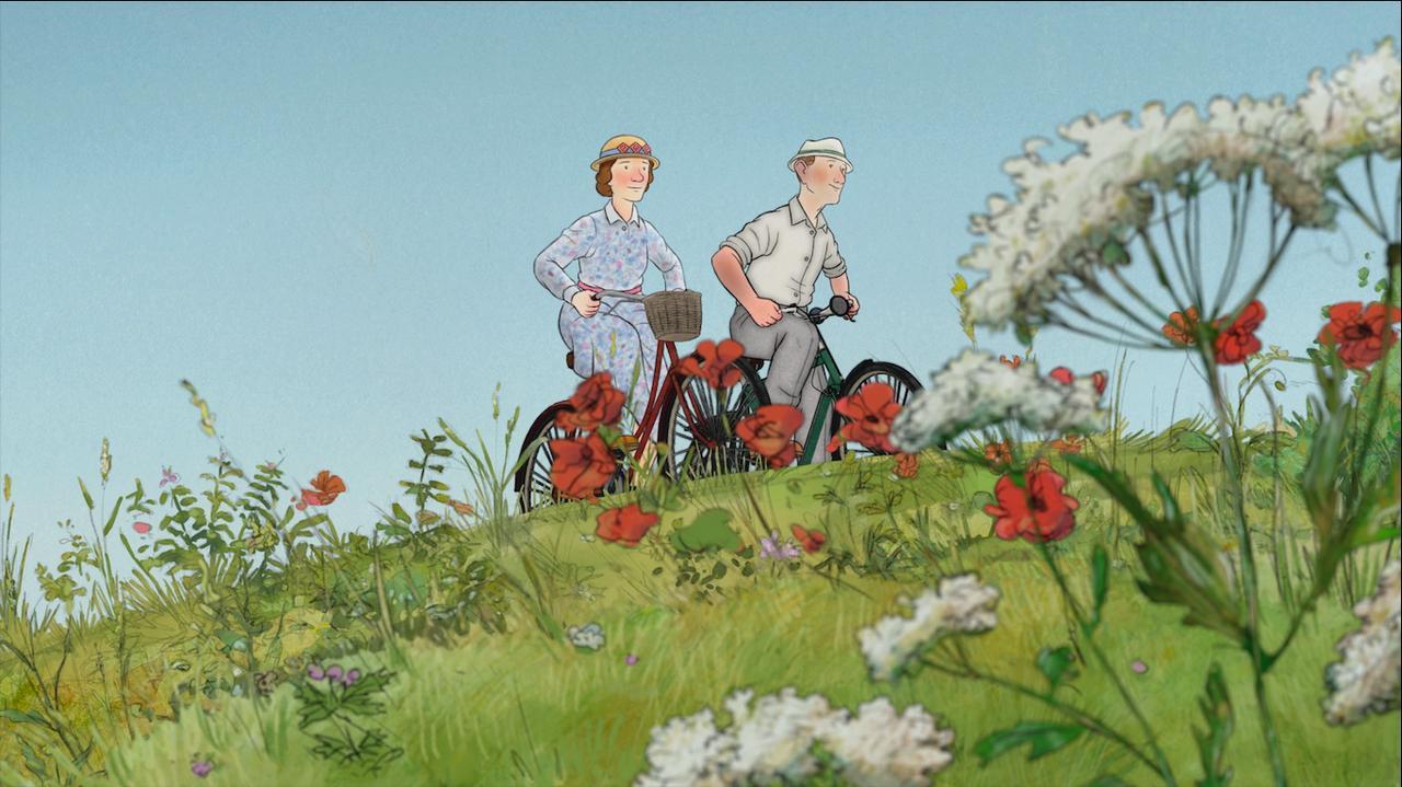 画像3: 予告!岩波ホールで初の2Dアニメーション!「スノーマン」レイモンド・ブリッグズ原作の奇跡の手書きアニメーション『エセルとアーネスト ふたりの物語』