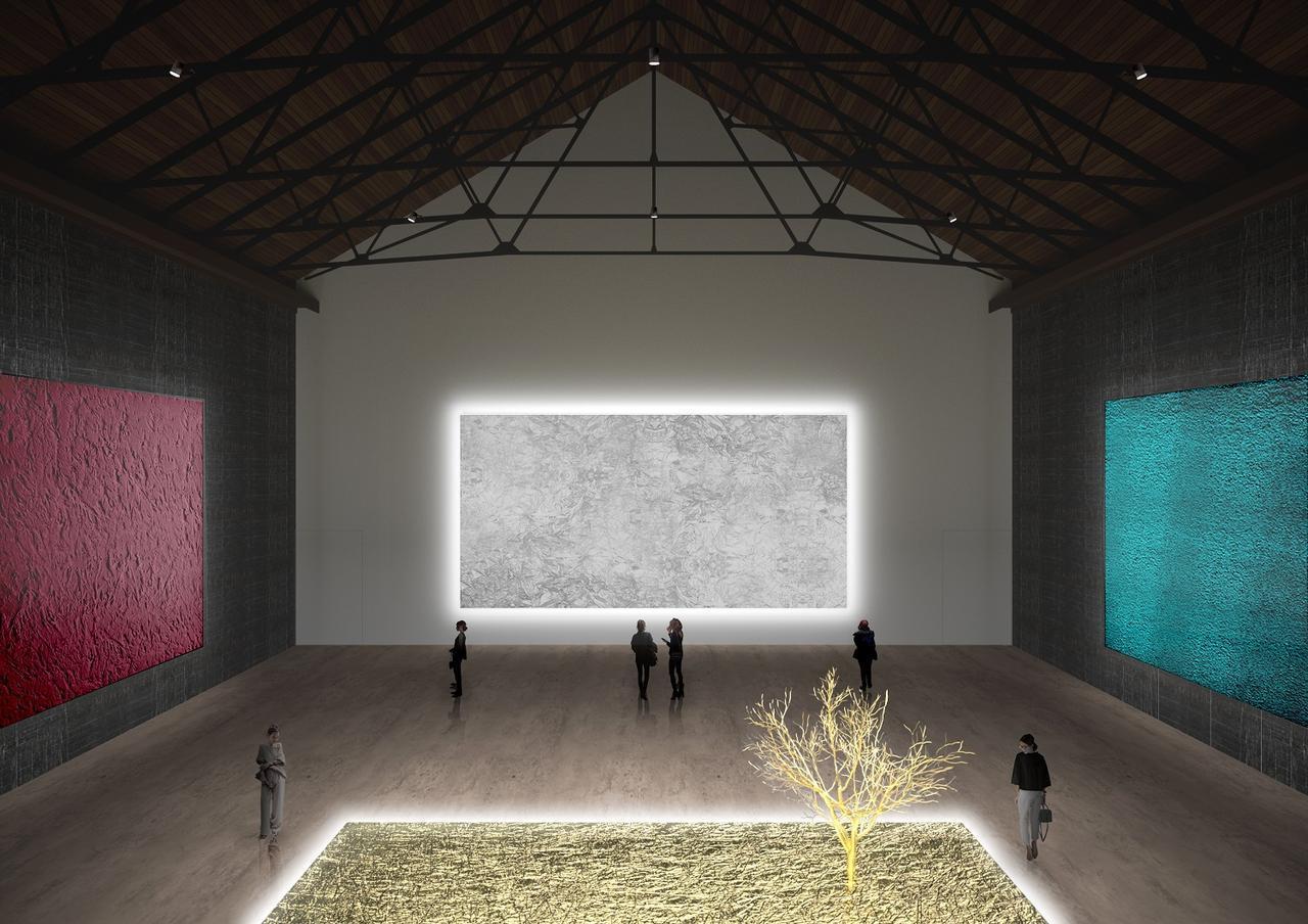 画像: 高さ15メートルの大型展示空間 ⒸAtelier Tsuyoshi Tane Architects