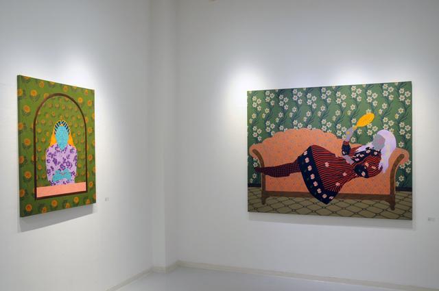 画像: 北川 香乃花 Kitagawa Konoka ギャラリーQ Gallery Q 1990 東京都生まれ 2015 多摩美術大学大学院美術研究科博士前期課程絵画専攻油画研究領域修了