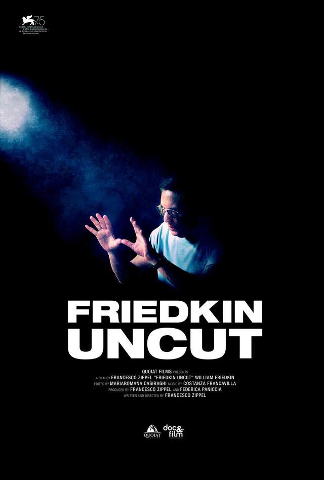 画像: 『フリードキン・アンカット』海外ポスター