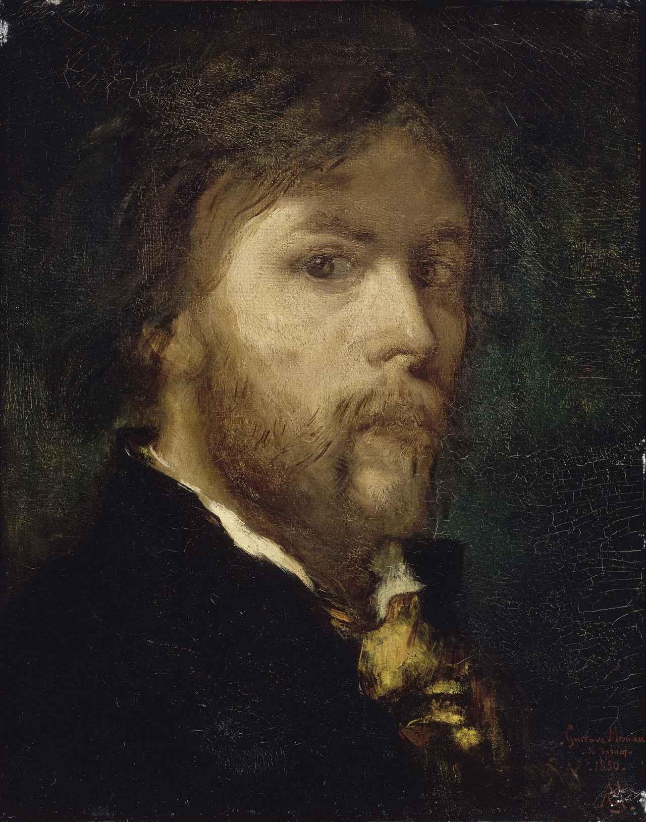 画像: 《24歳の自画像》1850年 油彩/カンバス 41×32cm Photo © RMN-Grand Palais / René-Gabriel Ojéda / distributed by AMF