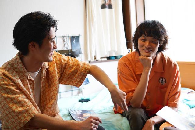 画像: 左より、中山求一郎、田中爽一郎