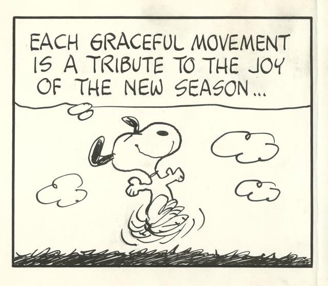 画像: 「ピーナッツ」原画(部分)1972年3月20日 © Peanuts Worldwide LLC