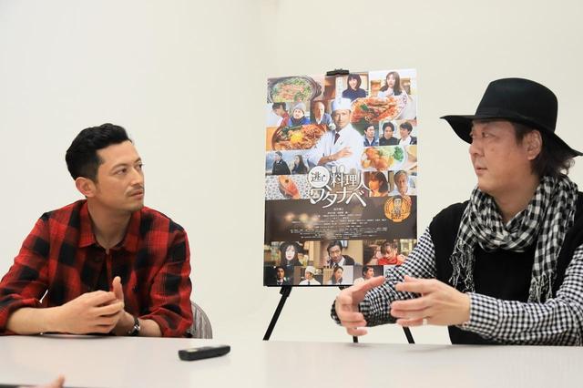 画像: 左より、俳優:池内博之さん、門馬直人監督 Photo by Tomoe Otsu