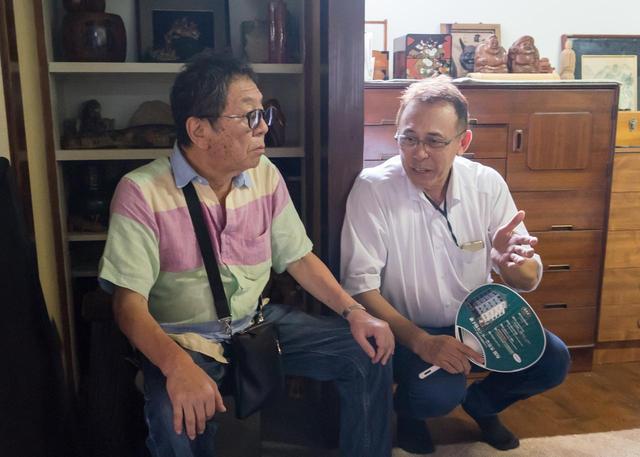 画像: 高橋伴明監督とベストセラーの原作者・長尾和宏さん