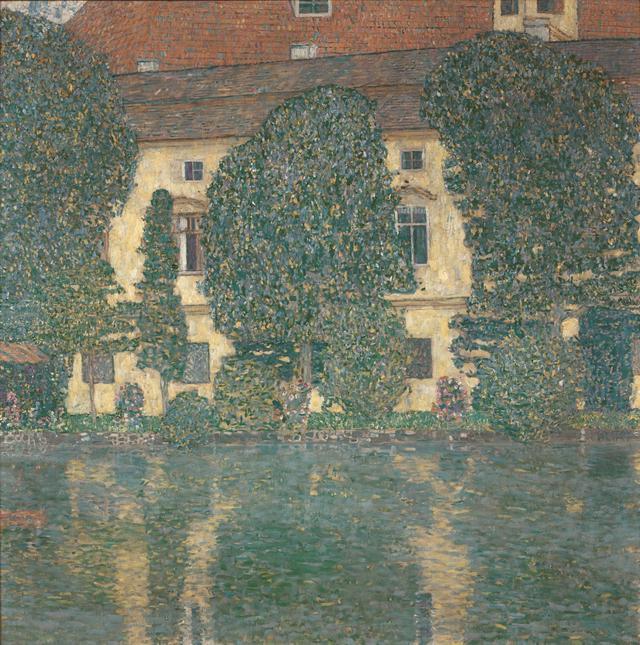 画像: グスタフ・クリムト《アッター湖畔のカンマー城III》 1909/1910年 油彩、カンヴァス 110×110cm ベルヴェデーレ宮オーストリア絵画館 © Belvedere, Vienna, Photo: Johannes Stoll