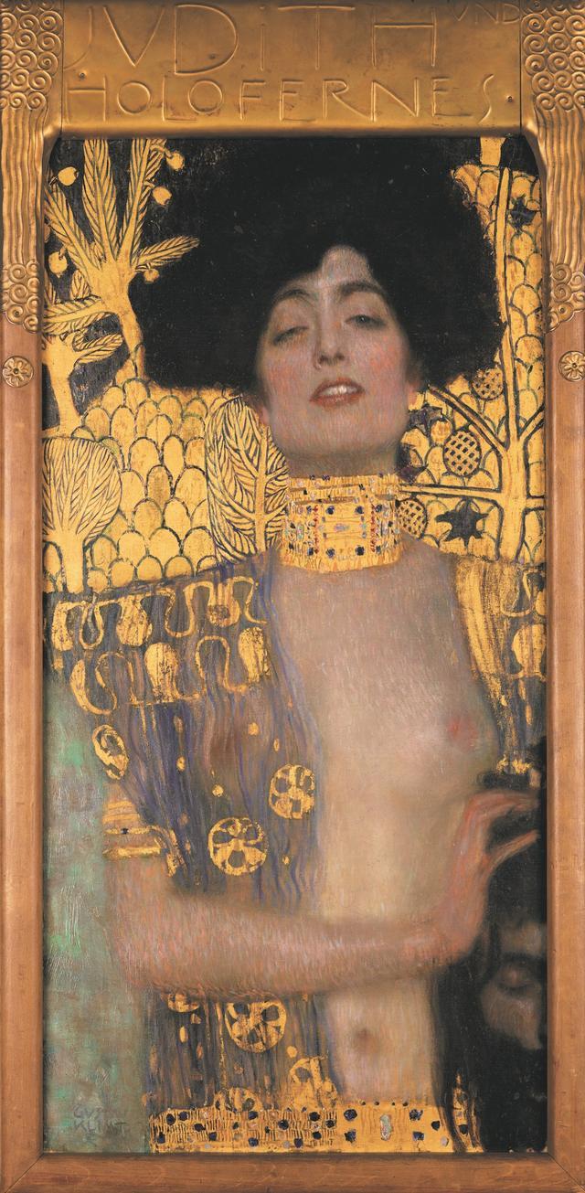 画像: グスタフ・クリムト《ユディトⅠ》 1901年 油彩、カンヴァス 84×42cm ベルヴェデーレ宮オーストリア絵画館 © Belvedere, Vienna, Photo: Johannes Stoll