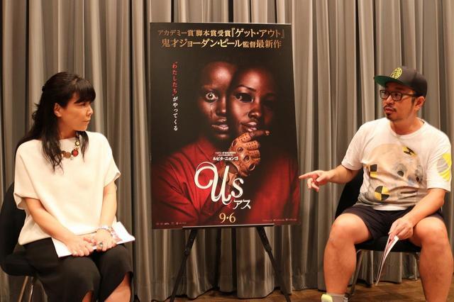 画像: 左より立田敦子さん(映画ジャーナリスト)、宇野維正さん(映画・音楽ジャーナリスト)、