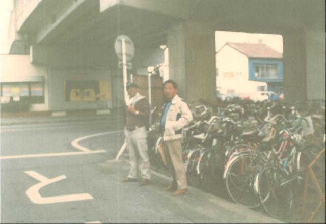 画像: 当時の創業者(私の祖父)