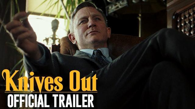 画像: Knives Out (2019 Movie) Official Trailer — Daniel Craig, Chris Evans, Jamie Lee Curtis youtu.be