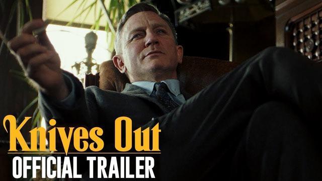 画像: Knives Out (2019 Movie) Official Trailer — Daniel Craig, Chris Evans, Jamie Lee Curtis youtu.be