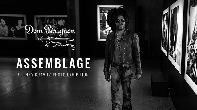 画像: Dom Pérignon x Lenny Kravitz: Opening Night of Assemblage, a Lenny Kravitz Photo Exhibition in NYC youtu.be