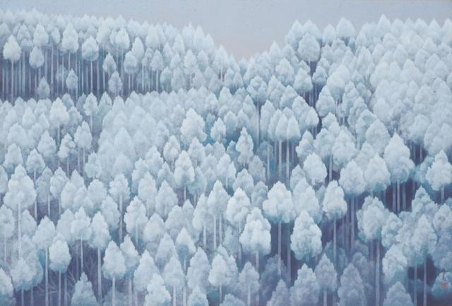 画像: 東山魁夷《北山初雪》 1968年|公益財団法人川端康成記念会蔵