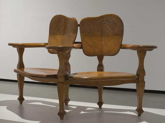 画像: アントニ・ガウディ(デザイン)カザス・イ・バルデス工房《カザ・バッリョーの組椅子》 1904-06年頃 トネリコ材、カタルーニャ美術館 © Museu Nacional d'Art de Catalunya,Barcelona (2019)