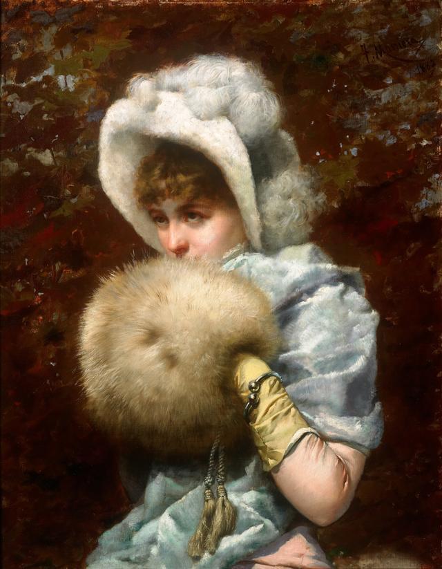 画像: フランセスク・マスリエラ《1882 年の冬》 1882年|油彩・カンヴァス|カタルーニャ美術館 © Museu Nacional d'Art de Catalunya, Barcelona (2019)