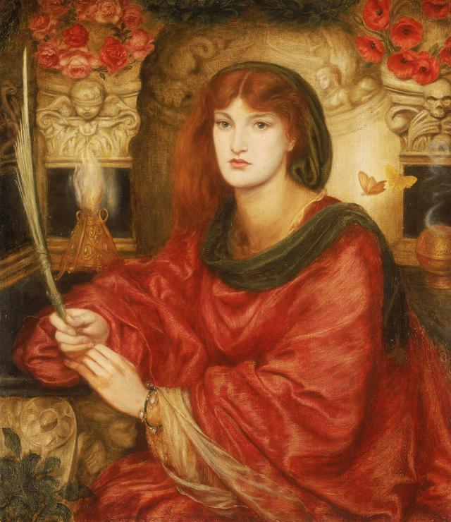 画像: ダンテ・ゲイブリエル・ロセッティ《シビュラ・パルミフェラ》1865-70年頃、リヴァプール国立美術館、レディ・リーヴァー・アート・ギャラリー © National Museums Liverpool, Lady Lever Art Gallery, Port Sunlight