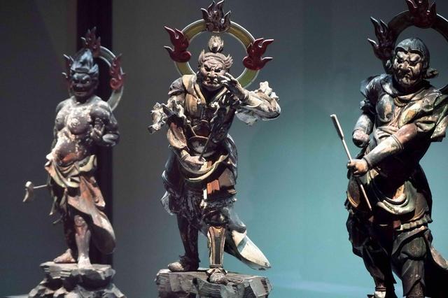 画像: 十二神将立像 鎌倉時代13世紀 滋賀・金剛寺 運慶の時代以降のダイナミックに躍動する表現(滋賀県指定有形文化財)