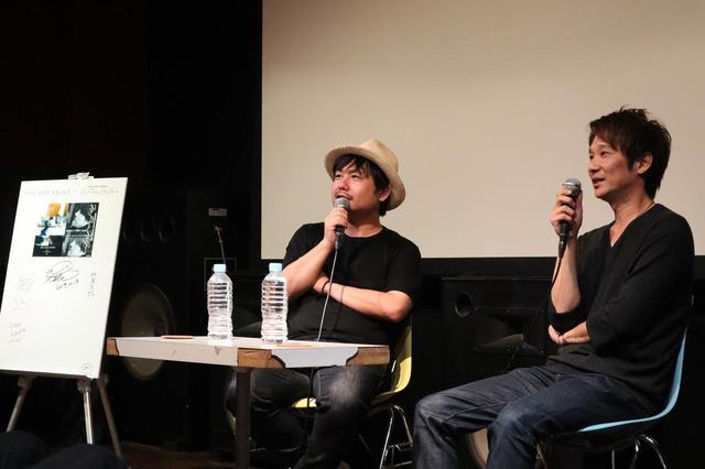 画像: 左から牧有太監督、伊藤主税プロデューサー