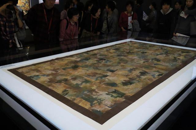 画像: 「七条刺納樹皮色袈裟」 正倉院宝物 【奈良国立博物館 「第71回 正倉院展」】