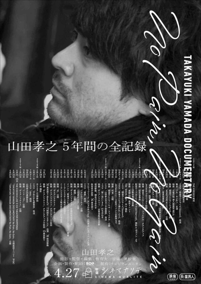 画像2: 山田孝之ドキュメンタリー「No Pain, No Gain」×プロデュース「デイアンドナイト」交互上映会が再び--自身のドキュメンタリーを観ながら解説するライブコメンタリー上映実施!