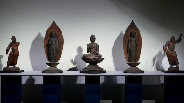 画像: 薬師如来坐像・菩薩立像・持国天立像・増長天立像 平安時代 11世紀 高知・北寺 (重要文化財)