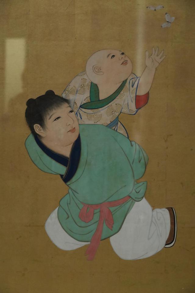 画像: 円山応挙 郭子儀図(部分) 江戸時代 天明8(1788)年 大乗寺客殿襖絵