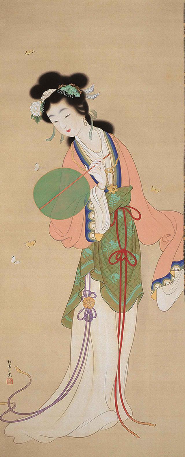 画像: 上村松園「楚蓮香之図」大正13年頃  後期展示・11月26日から