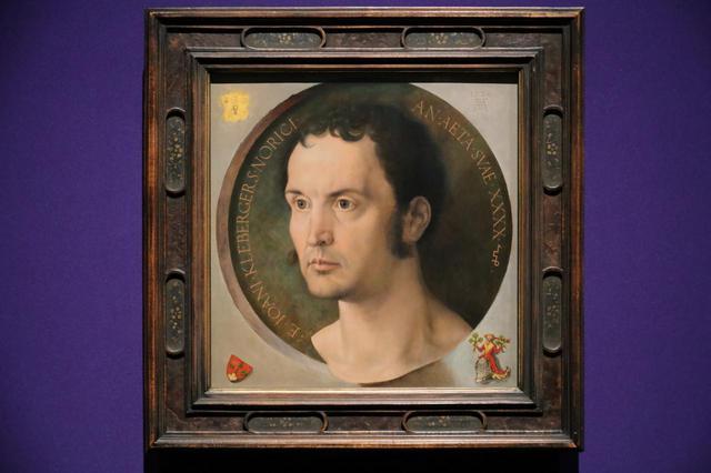 画像: アルブレヒト・デューラー「ヨハネス・クレーベルガーの肖像」1526年 ウィーン美術史美術館