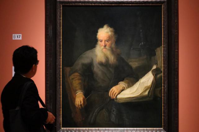 画像: レンブラント・ファン・レイン「使徒パウロ」1636年 ウィーン美術史美術館