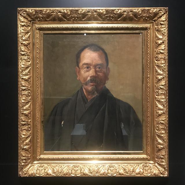画像: 松岡壽《辰野金吾肖像》1921年、辰野家蔵 photo©msaito