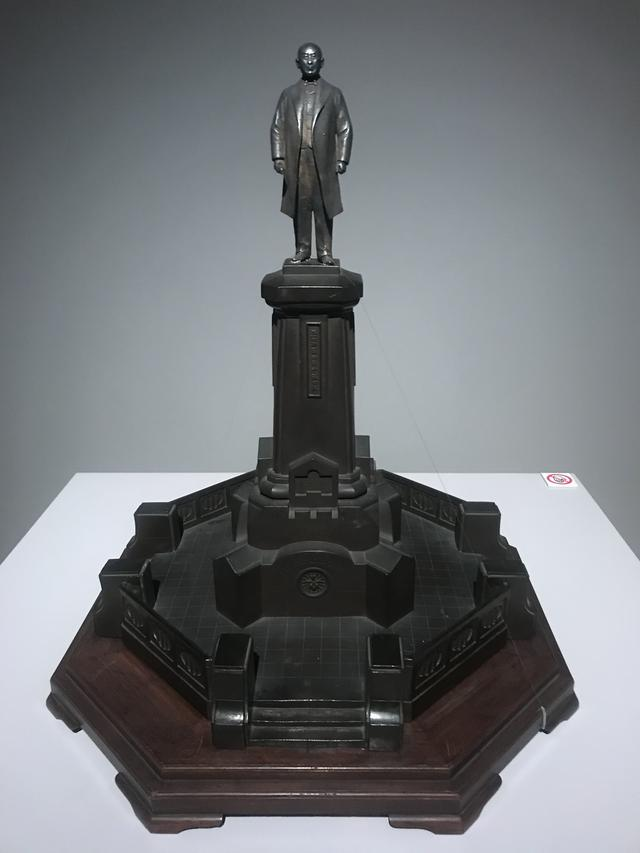 画像: 本山白雲 《井上勝全身像離形》 1912年 ブロンズ 鉄道博物館蔵 photo©msaito